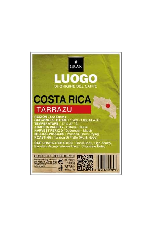 LUOGO   Costa Rica Tarrazu
