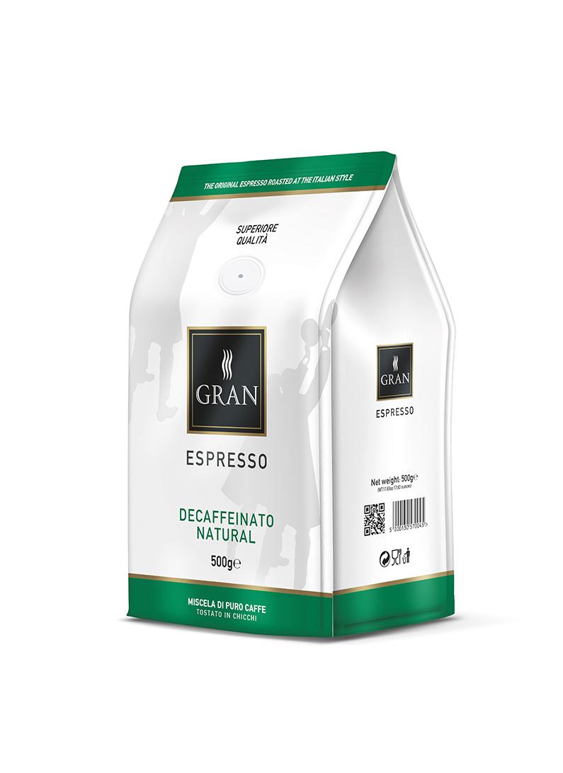 Decaffeinate   500gr Coffee Beans