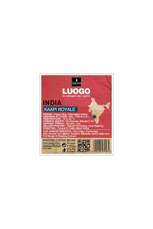 LUOGO | India Robusta Kaapi Royale