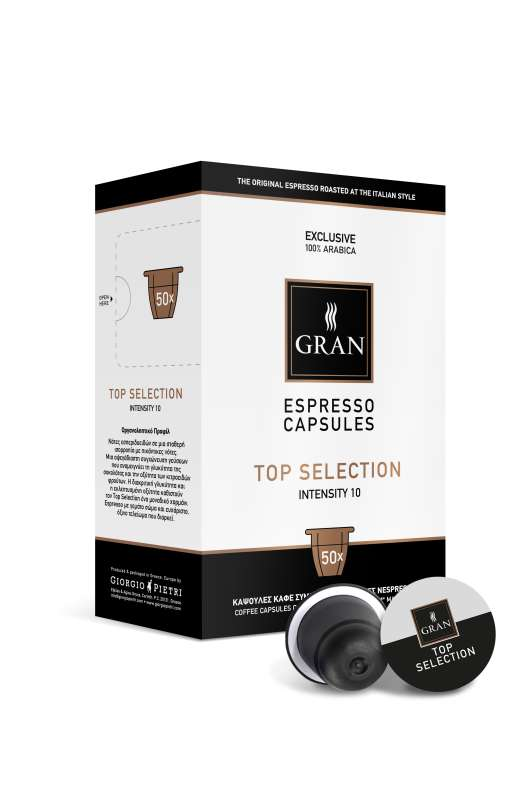 TOP SELECTION | 100% Arabica | 50 Capsules Compatible