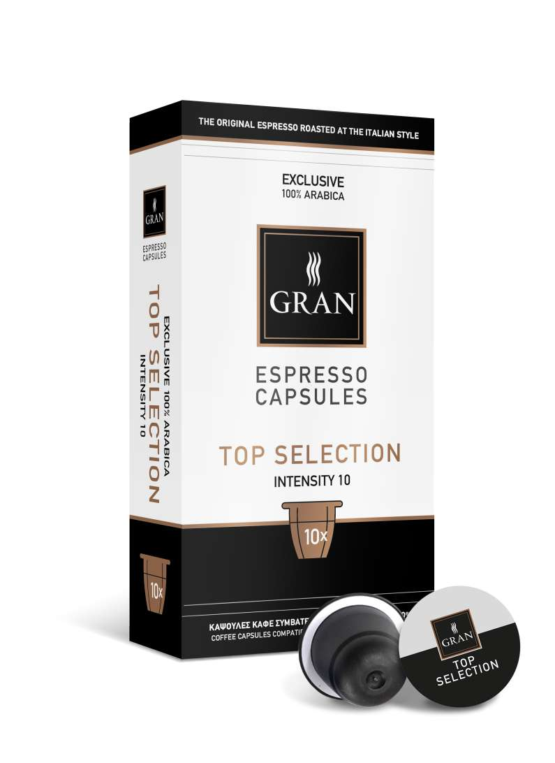 TOP SELECTION | 100% Arabica | 10 Capsules Compatible
